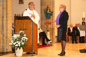 Nel Vroonhof ontving de Laurentius-plaquette